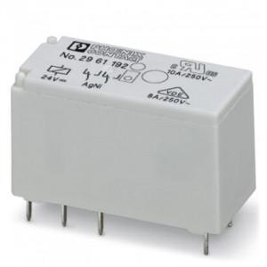 رله سرامیکی تک کنتاکت -24DC و(8 پایه خطی 16 آمپر)