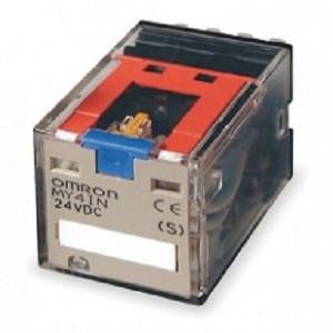 رله الکترومکانیکی کمکی امرن Omron Relay MY4IN 100/110DC