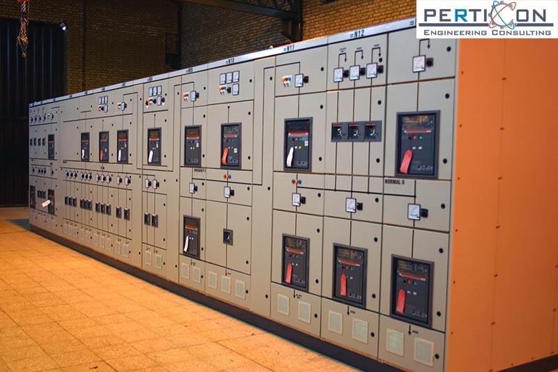 تابلو برق صنعتی- پرتیکان