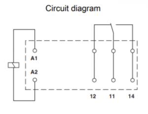 رله سرامیکی تک کنتاکت -24AC و(8 پایه خطی 16 آمپر)