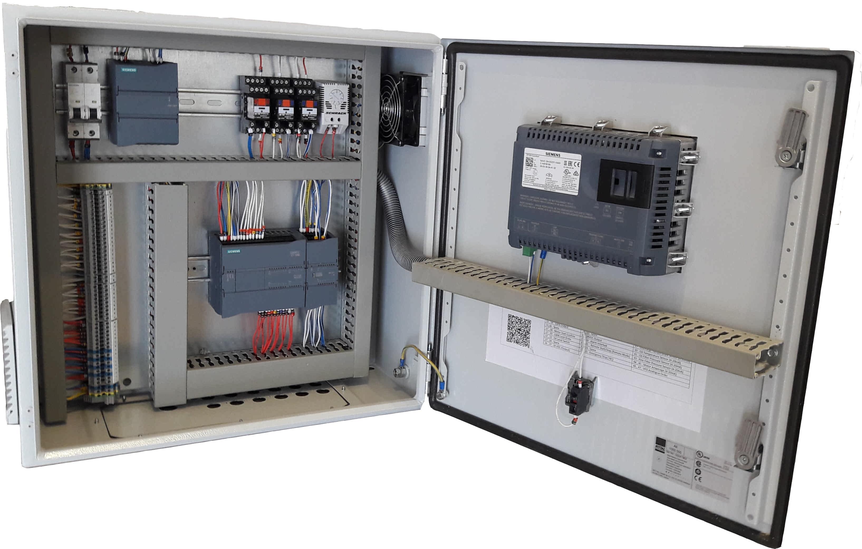 تابلو برق کنترل ظرفیت کمپرسور